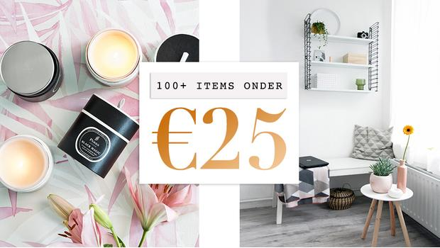 Hebbedingen onder €25