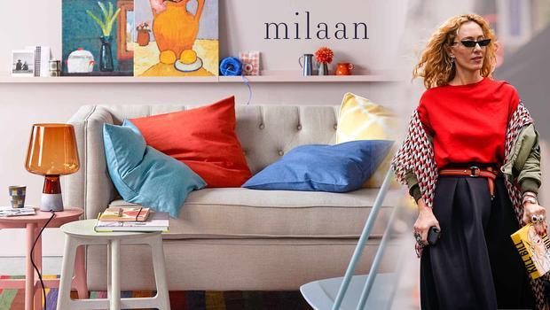 Elegant als Milaan