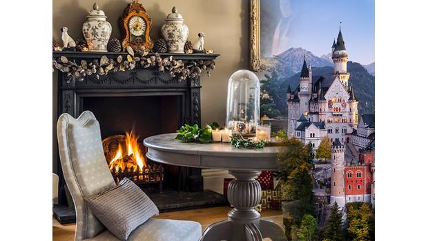 Christmas on a castle
