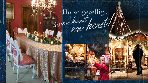 De traditionele kerstmarkt