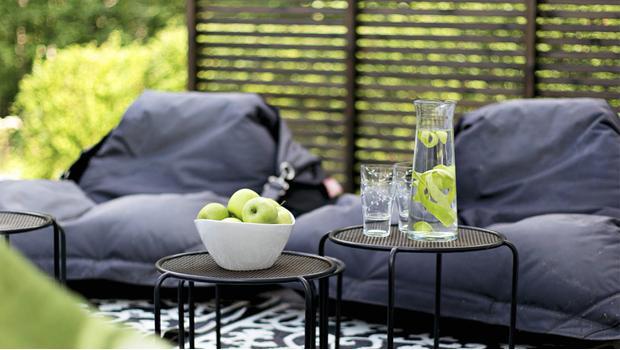Een tuin-loft
