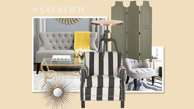 Safavieh: uptown glam