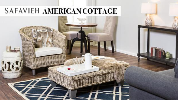 Safavieh: American Cottage Een country chique interieur | Westwing