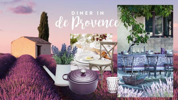 Diner in de Provence