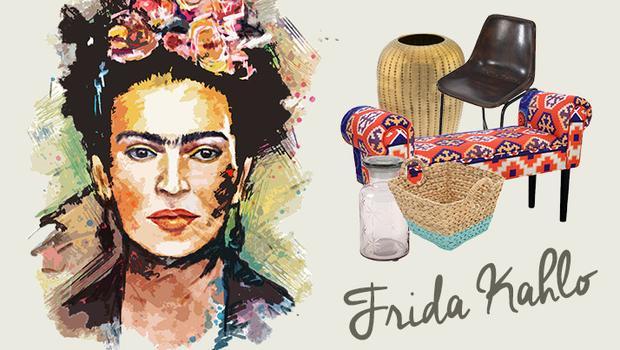 Wonen als Frida Kahlo