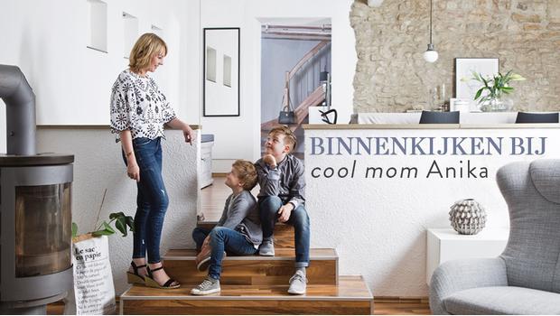 Simpel minimalistisch clean het coole huis van moeder ger