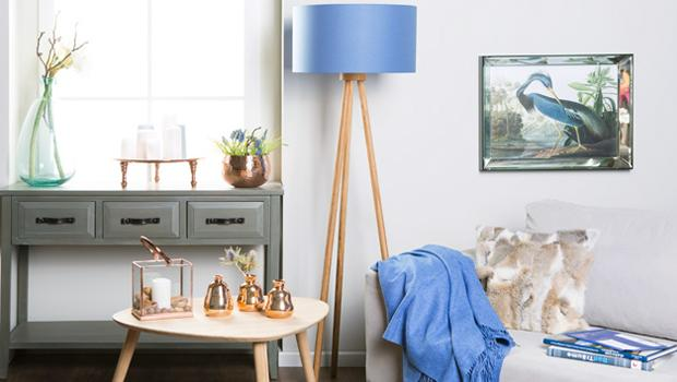 Koper & Blauw Een spetterende kleurencombinatie | Westwing
