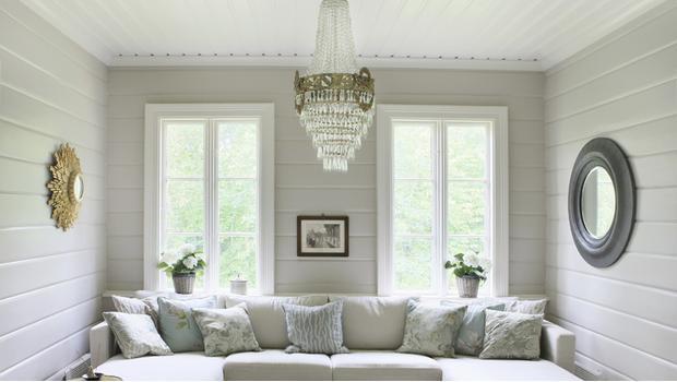 Een plafond vol glans