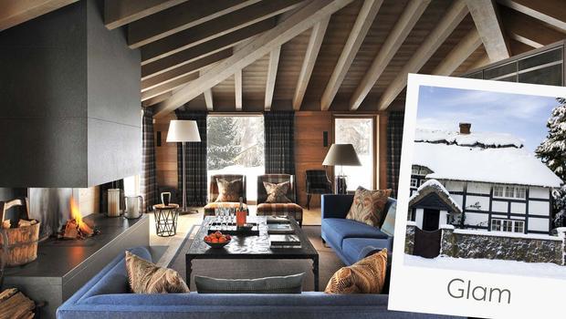Chalet in glam stijl de alpen chic look voor thuis westwing