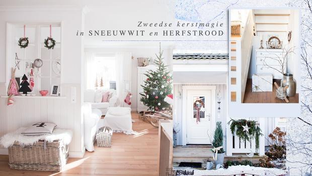 Een Zweedse landelijke Kerst
