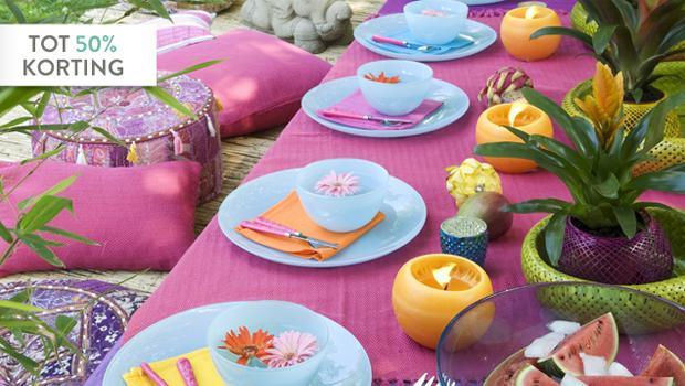 Een feest van kleur