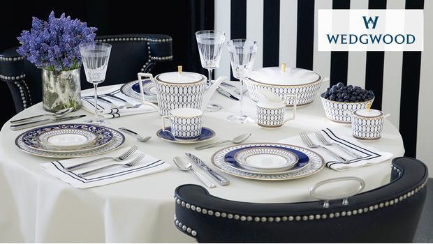 Aan tafel met Wedgwood