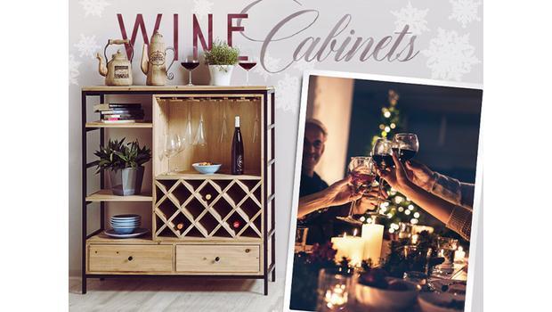 Wijnrekken, -koelers & -kasten