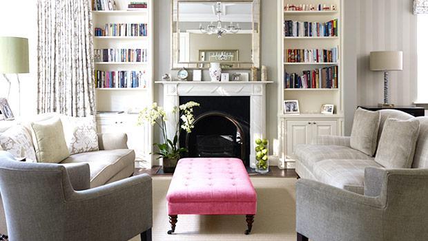 Een romantisch interieur