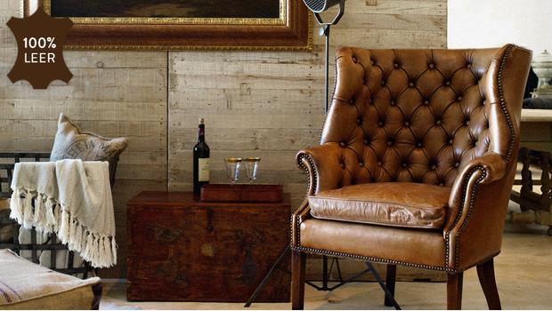 assises, cuir, fauteuil