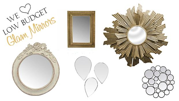 Glam mirrors