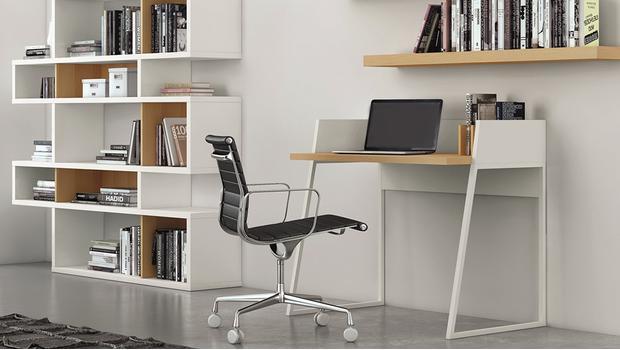 een modern kantoor aan huis