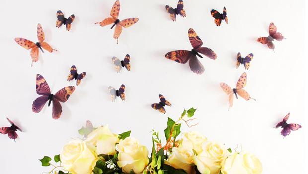 Een vlindermuur