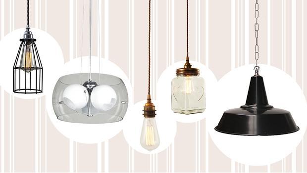 Moderne lampenparade