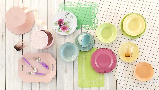 Dineren in kleur