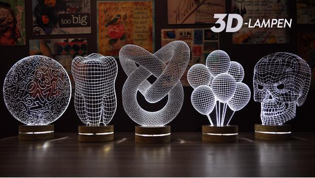 3D-lampen