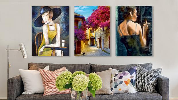 Creatief met canvas