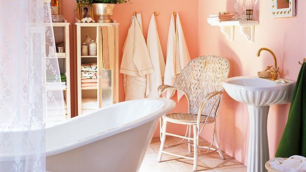 Een klassieke badkamer