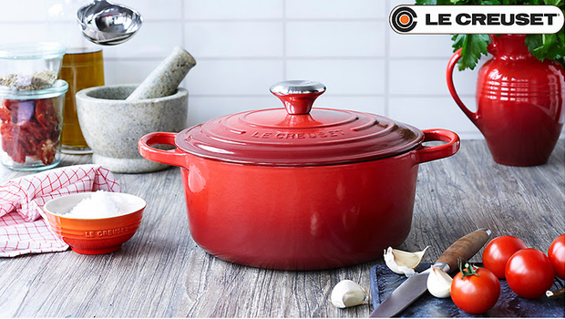 Blow out le Creuset