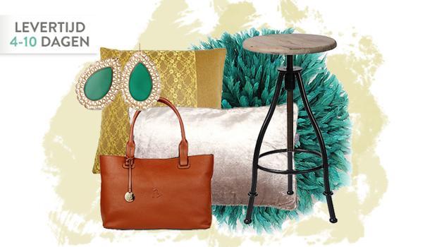 Versier je huis & jezelf glimmende kussens en sieraden westwing