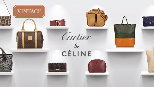 Cartier en Celine