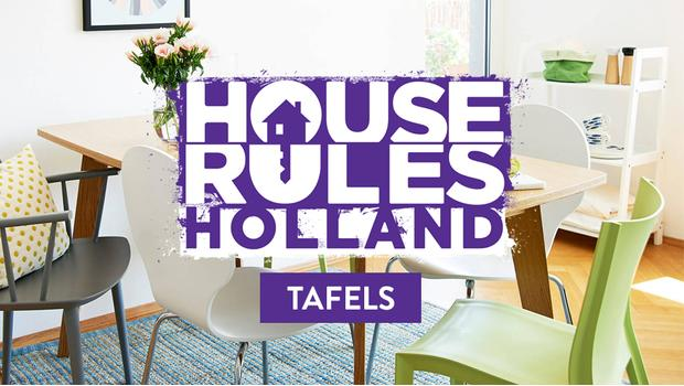House Rules Campaign - tafel