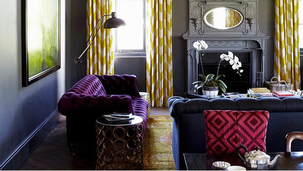 Trend: Inky Interior