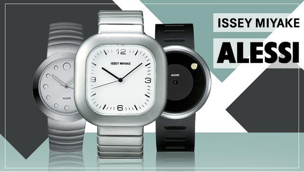 Issey Miyake,Alessi Horloges