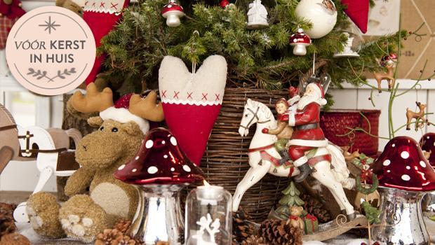 Een vrolijk kersthuis