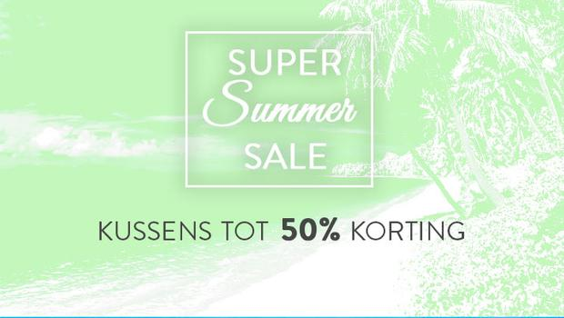 Summer Sale-Kussens