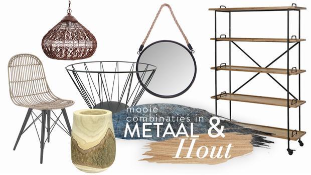 Metal & Wood