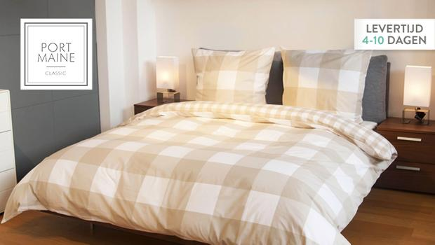 Port Maine bedding & towels