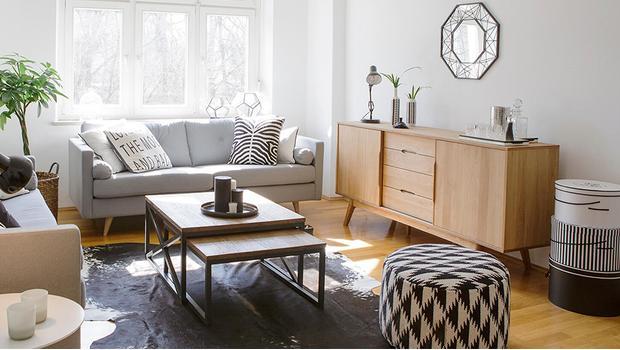 Een familiehuis in Scandinavië
