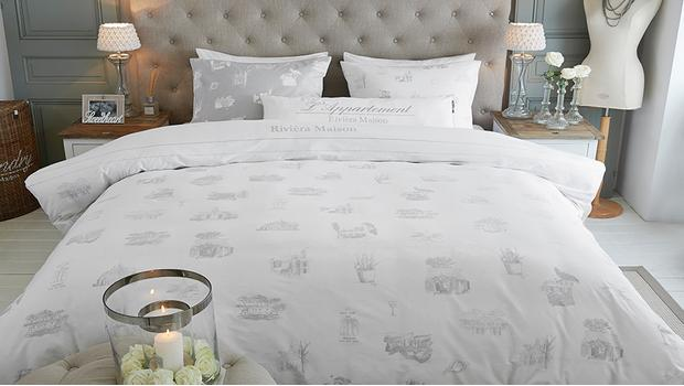 Rivièra Maison: slaapkamer Zacht bedlinnen in romantische look ...