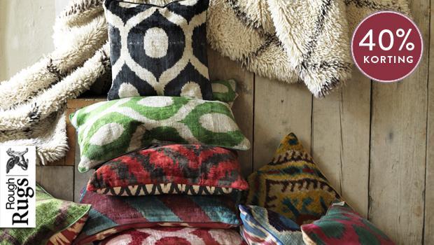 Rough rugs de bekende kussens westwing