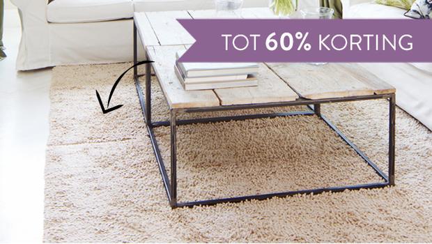 Op de vloer - zachte tapijten