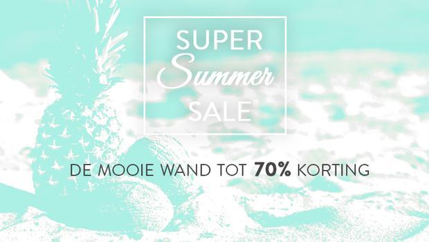 Summer Sale-De mooie wand