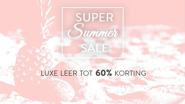 Summer Sale-Luxe leer