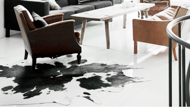 Skóry i skórzane dywany