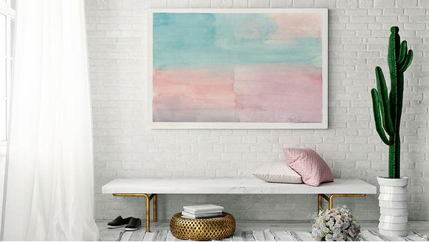 Pastelowe watercolors
