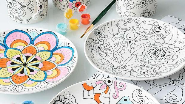 DIY: Malowane naczynia