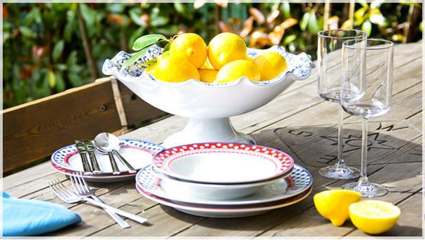 Stół w kolorach