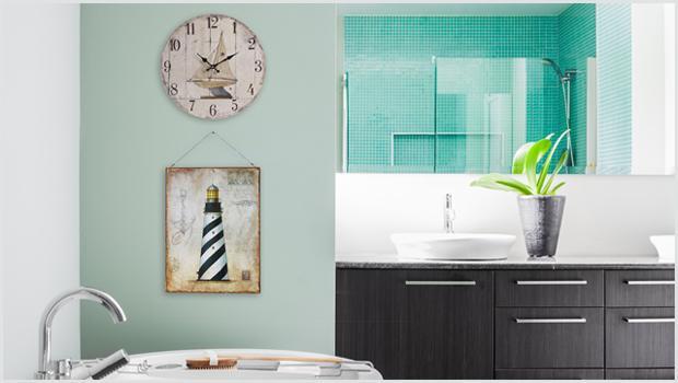 Łazienka w kolorach