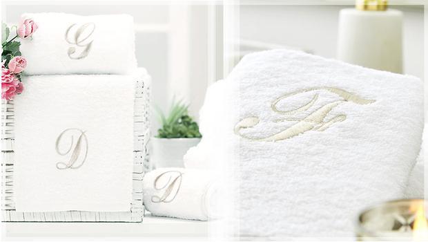 Eleganckie ręczniki kąpielowe