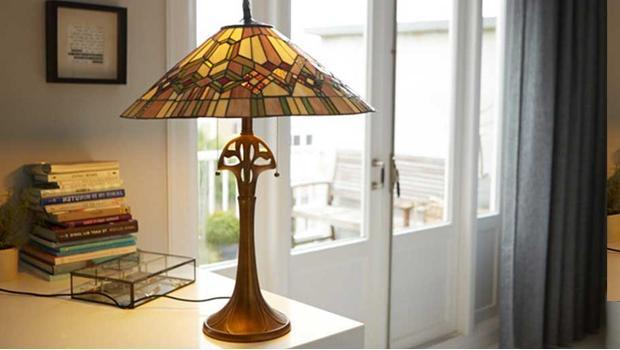 Lampy w stylu Tiffany